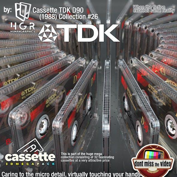 Cassette TDK D90 (1988) Collection #26