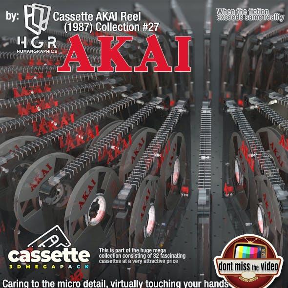 Cassette AKAI Reel (1987) Collection #27