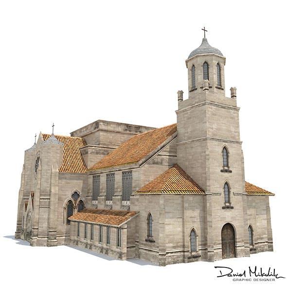 Church Building 169 - 3DOcean Item for Sale