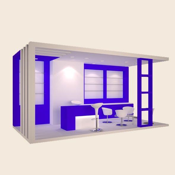 Exhibition Booth - BRU 6x3