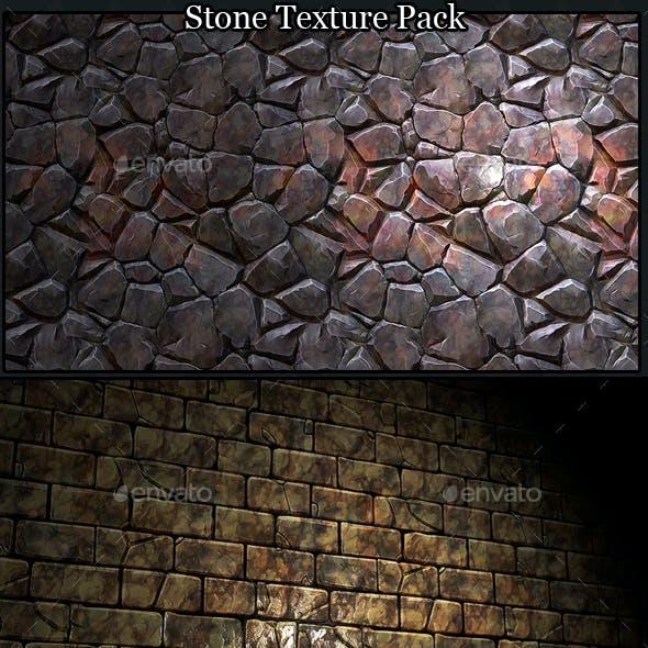 Stone Wall / Rock Floor Texture Tiles Pack