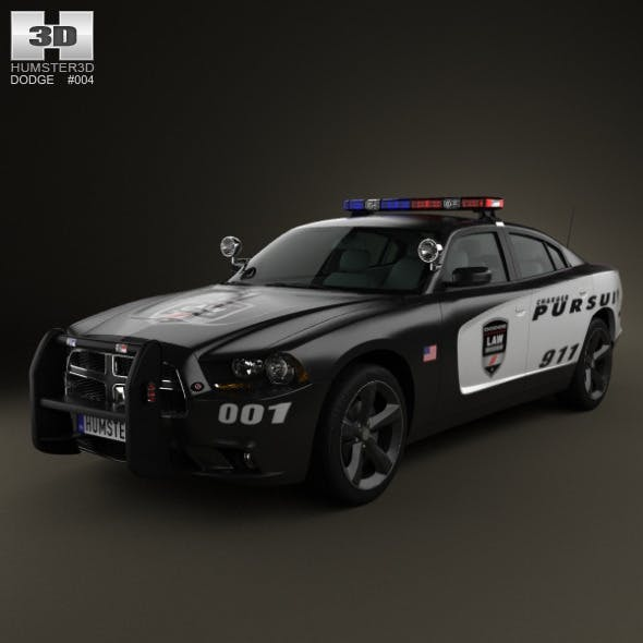 Dodge Charger Police 2011 - 3DOcean Item for Sale