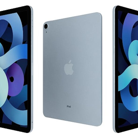 Apple iPad Air 4 2020 Sky Blue