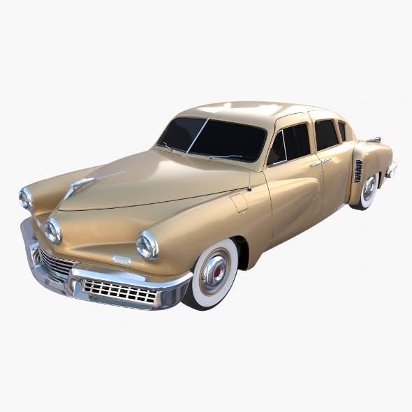 Generic 40s Sedan - 3DOcean Item for Sale