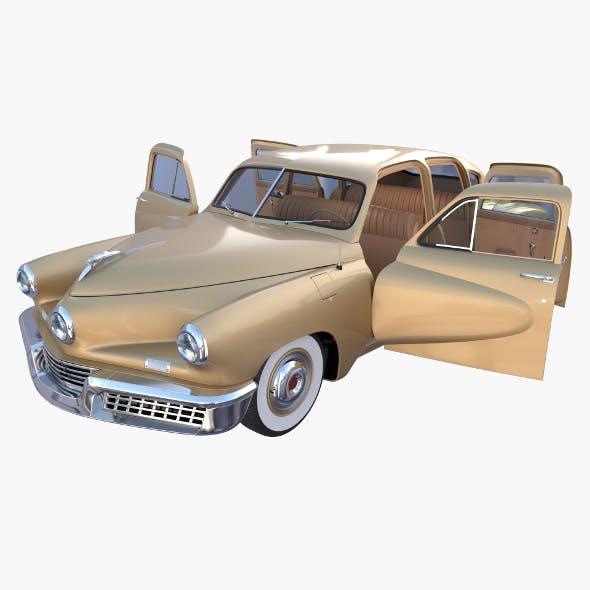 Generic 40s Sedan with interior