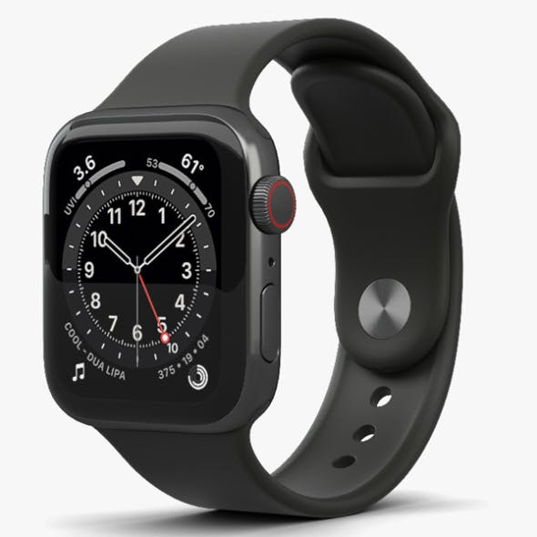 Apple Watch Series 6 40mm Stainless Steel Graphite