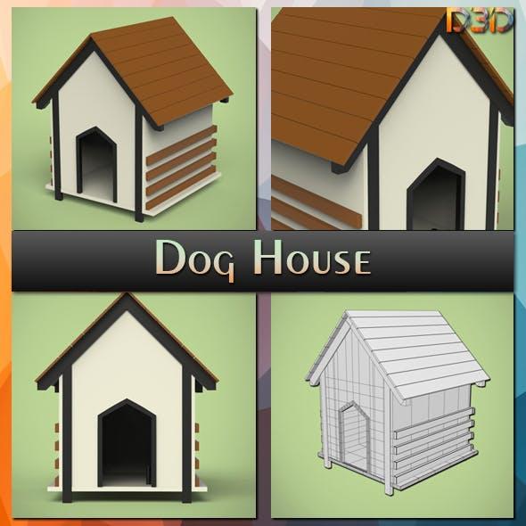 Dog House - 3DOcean Item for Sale