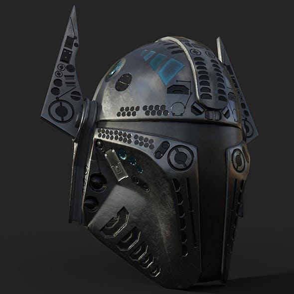 Mandalorian Helmet Pbr - 3DOcean Item for Sale