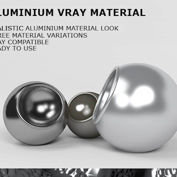 Aluminium VRay Material