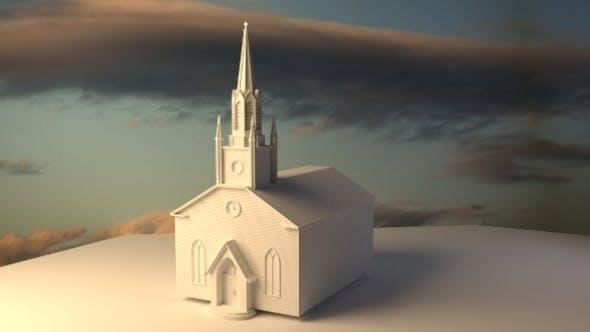 church - 3DOcean Item for Sale