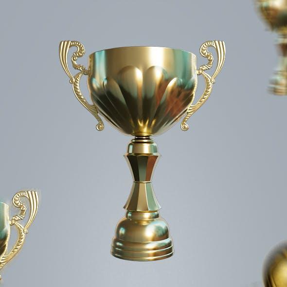Super Cup 3D Model