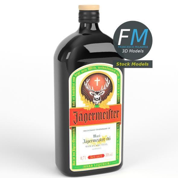 Jagermeister liqueur bottle