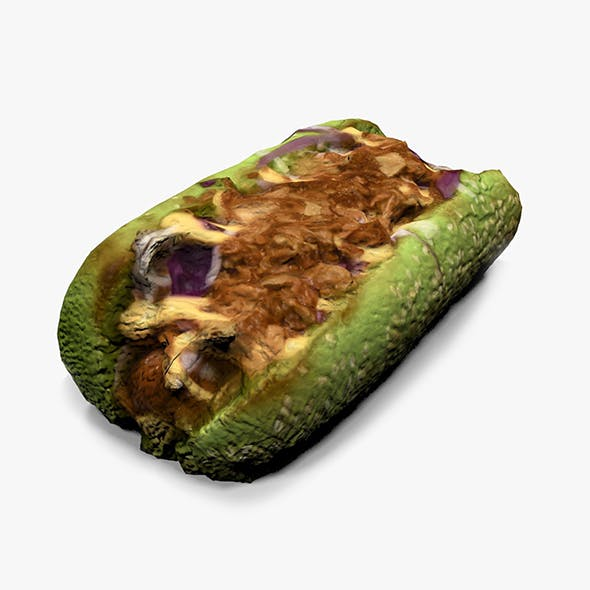Green Hot Dog - 3DOcean Item for Sale
