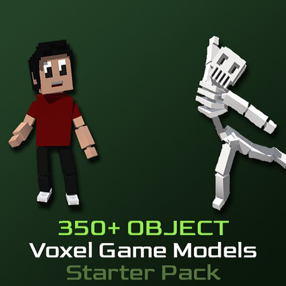 Voxel Game Models | Starter Pack