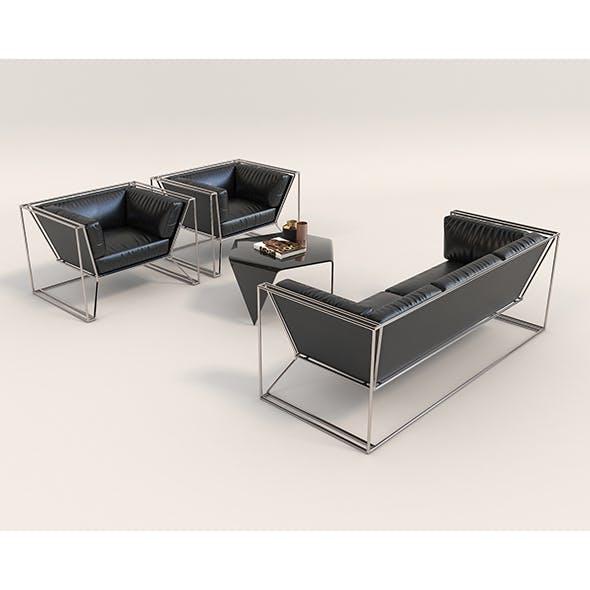 Contemporary Design Sofa Set