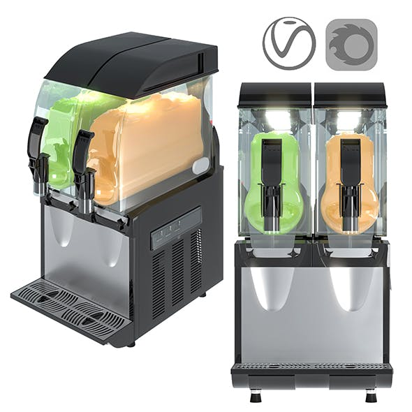 Slush ice machine SPM LUCE IPRO 2 M - 3DOcean Item for Sale