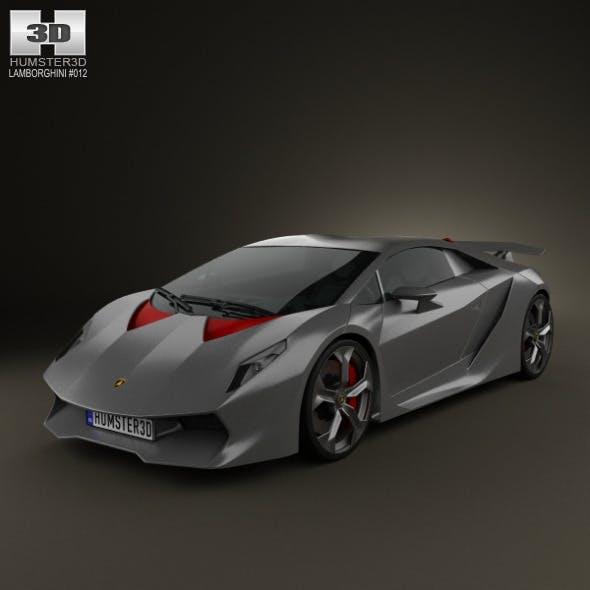 Lamborghini Sesto Elemento 2011 - 3DOcean Item for Sale