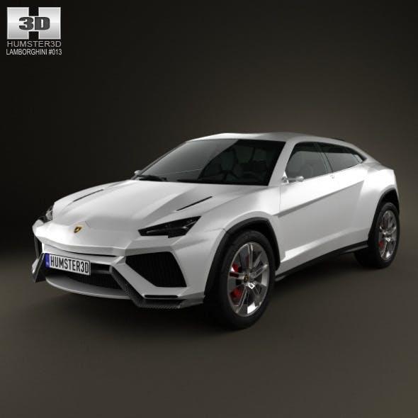 Lamborghini Urus 2012 - 3DOcean Item for Sale