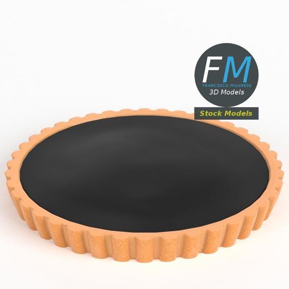 Chocolate tart pie