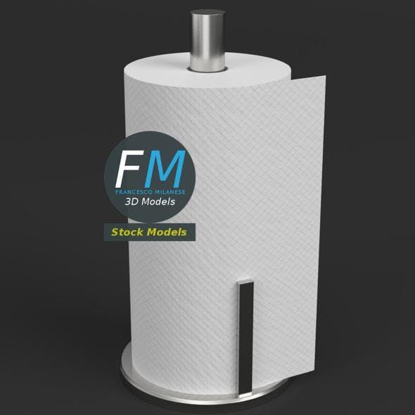 Paper towel holder - 3DOcean Item for Sale