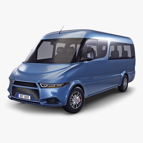 Generic Passenger Van v 1