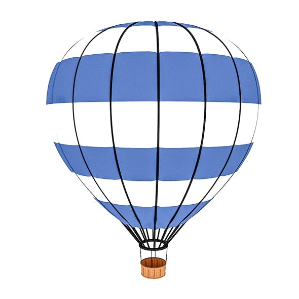 3d balloon model 02