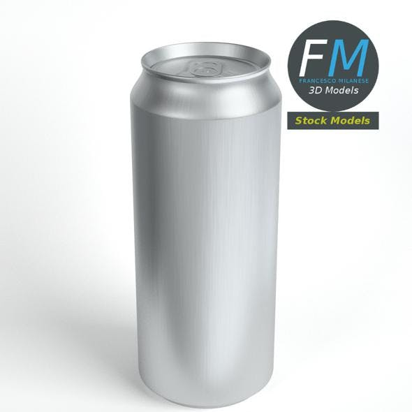 Tall closed soda can - 3DOcean Item for Sale