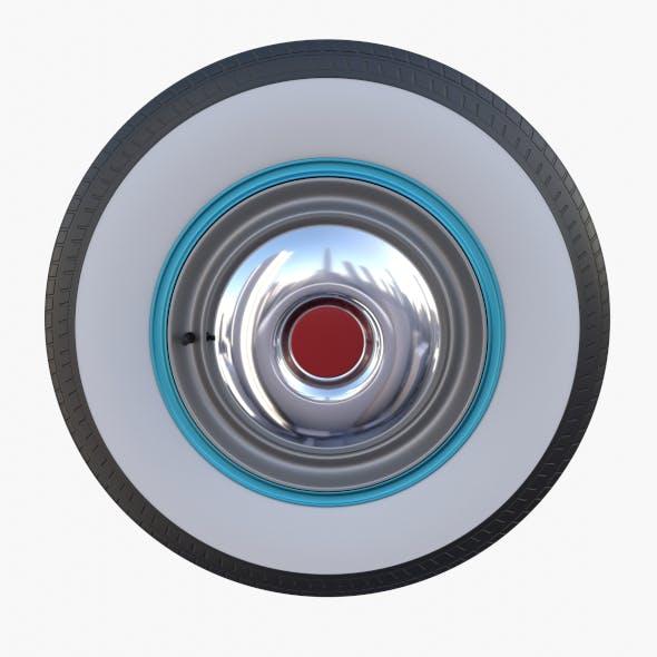 Generic 40s Car Wheel - 3DOcean Item for Sale
