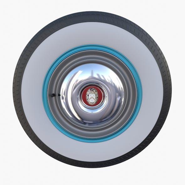Tucker 48 Wheel - 3DOcean Item for Sale