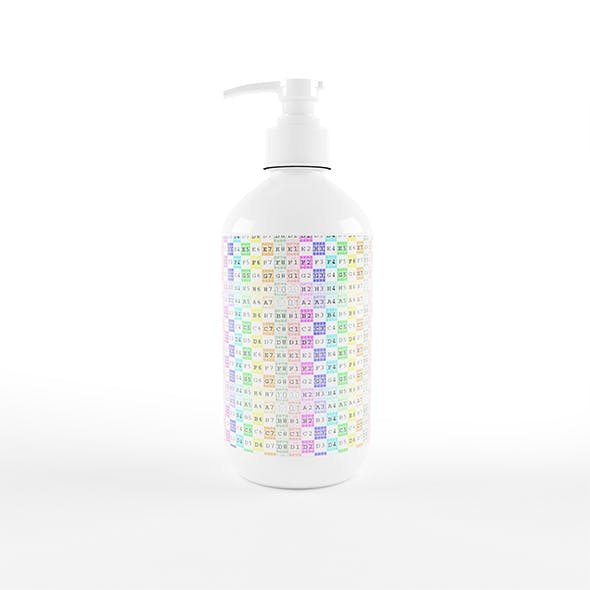 Cosmetic Bottle Container - 3DOcean Item for Sale