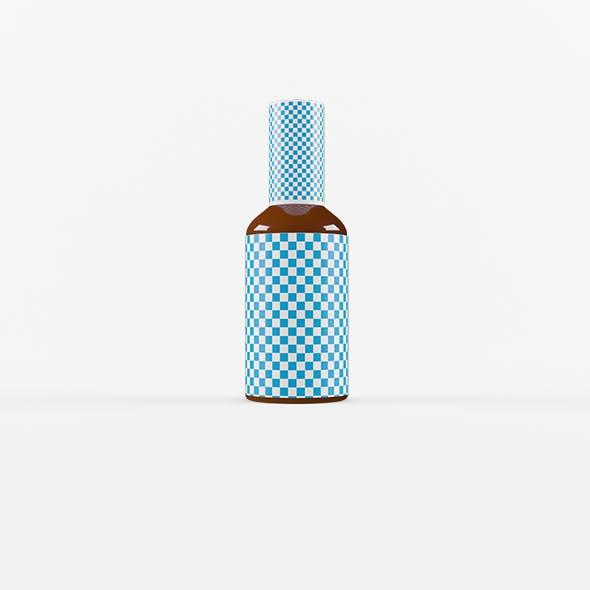 Amber Bottle - 3DOcean Item for Sale