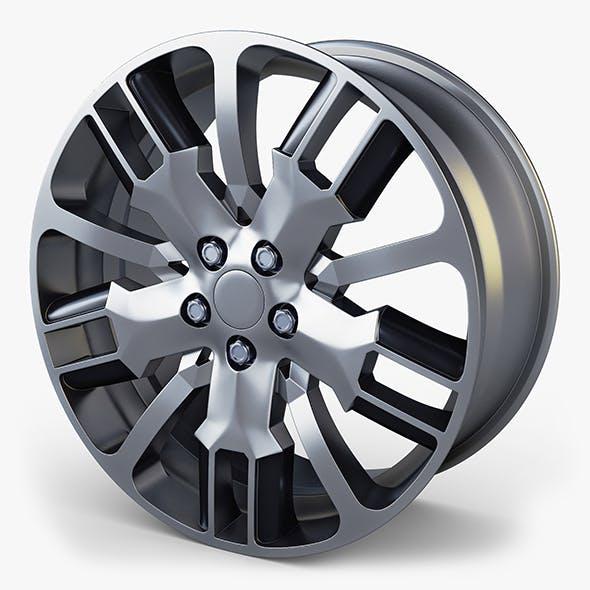 Car Rim Wheel 18 Silver Gen 1