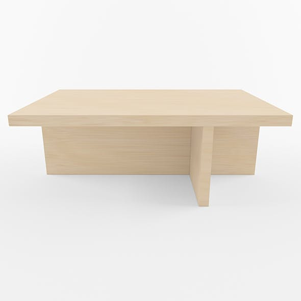Wooden Coffe Table