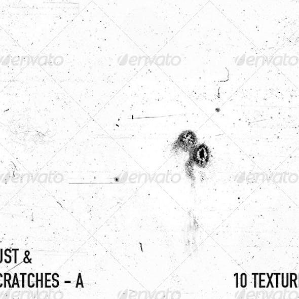 Dust & Scratch Textures - A