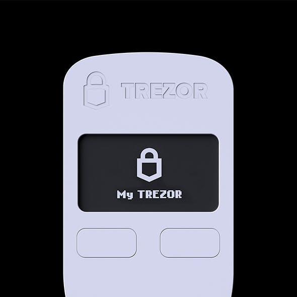 Trezor One 3D model