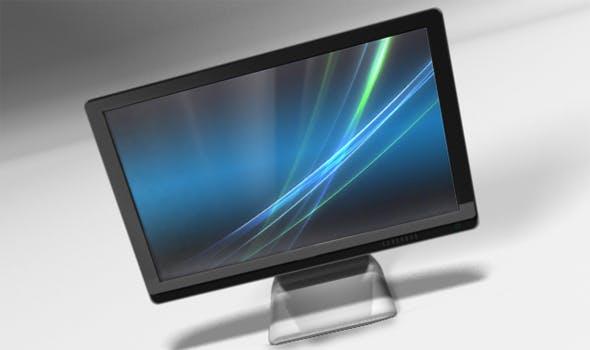 HP Screen - 3DOcean Item for Sale