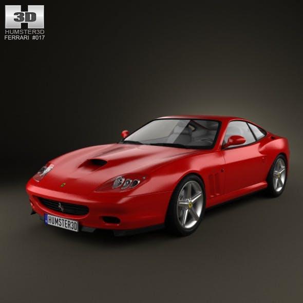 Ferrari 575M Maranello 2002-2006 - 3DOcean Item for Sale