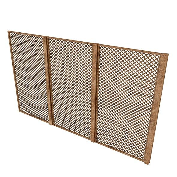 wooden separator 3D model