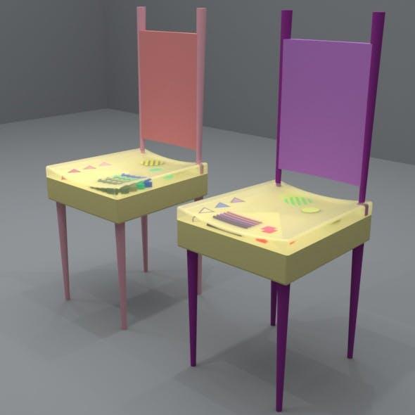 MODERN CHAIR DESIGN - 3DOcean Item for Sale