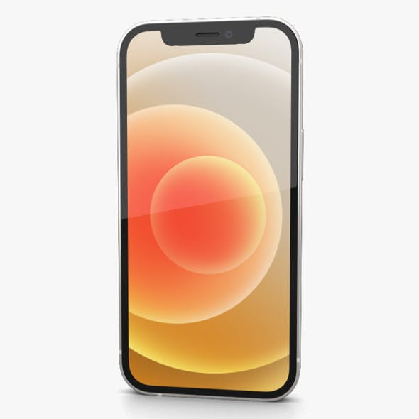 Apple iPhone 12 mini White - 3DOcean Item for Sale