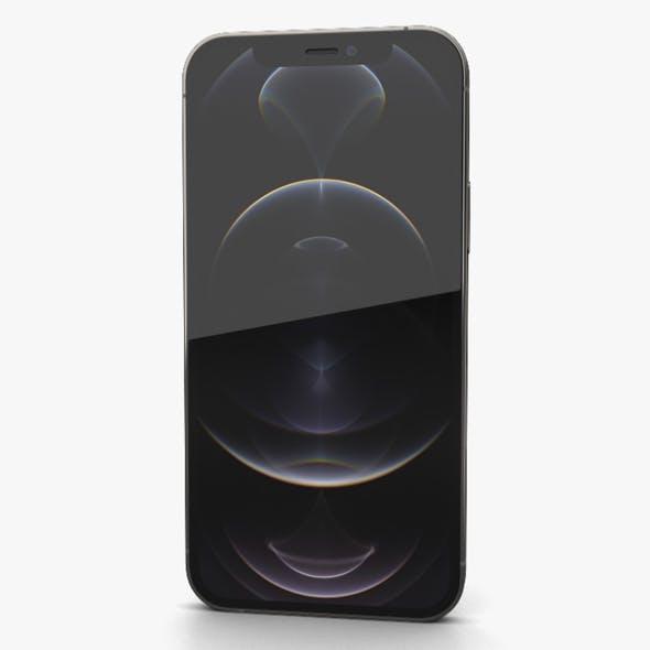 Apple iPhone 12 Pro Graphite - 3DOcean Item for Sale