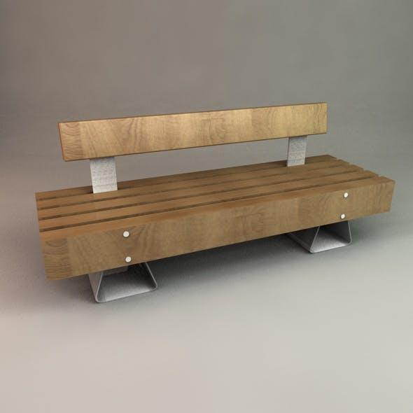 Designer Outdoor Bench