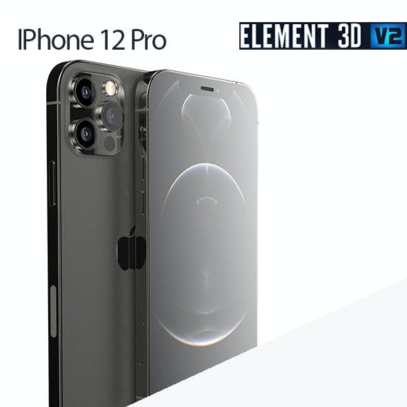 Iphone 12 Pro - Element 3D
