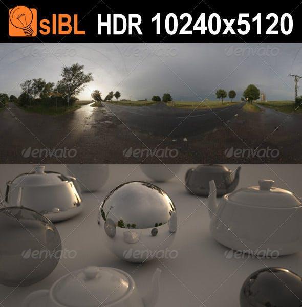 HDR 060 Road Dawn sIBL - 3DOcean Item for Sale