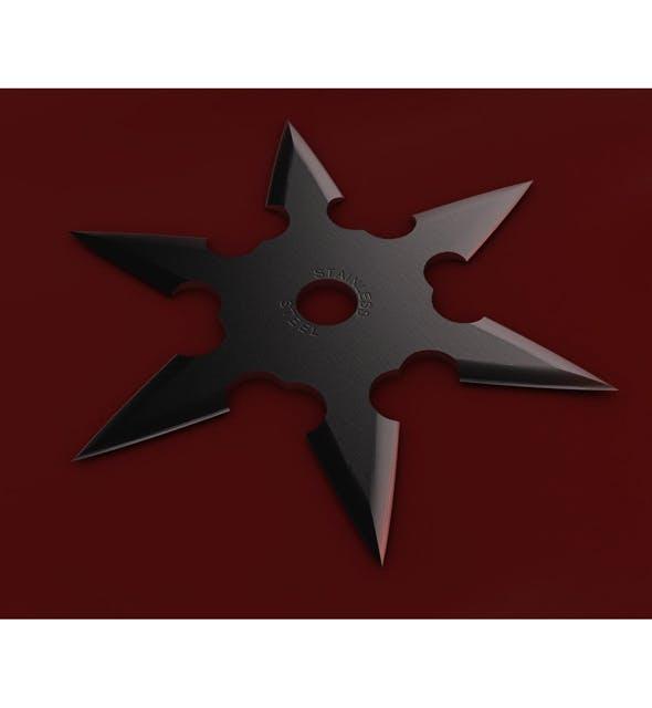 6 Point Shuriken - 3DOcean Item for Sale