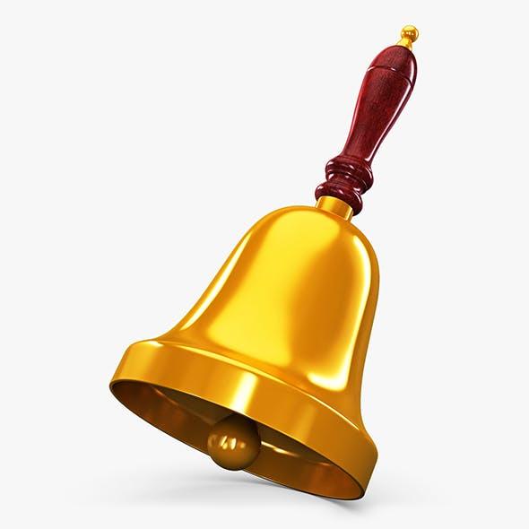 Gold Hand Bell v 1