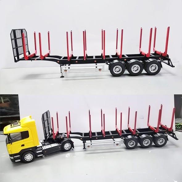 Trailer for Carrying Logs 3D print model