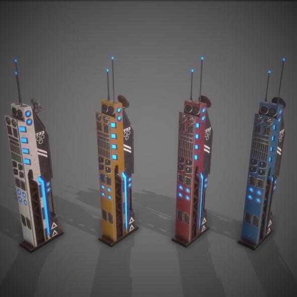 Sci-Fi Building 13 - 3DOcean Item for Sale