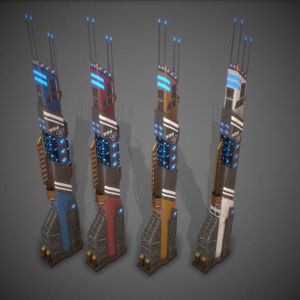 Sci-Fi Building 14 - 3DOcean Item for Sale