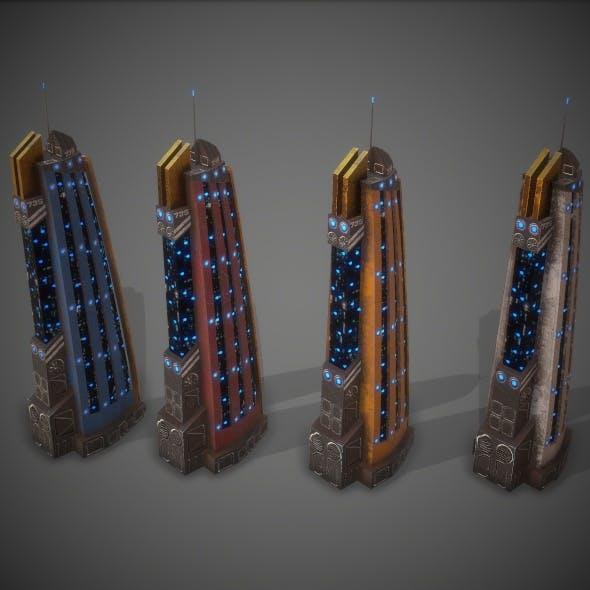 Sci-Fi Building 15 - 3DOcean Item for Sale